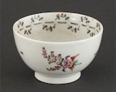 Antique Porcelain English Export Tea Bowl C.1780, Probably Worcester (Dr. Wall)