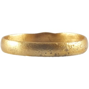 Ancient Norse Artifact 20.5mm Size 11 12 Ancient  Viking Wedding Ring C.900 A.D