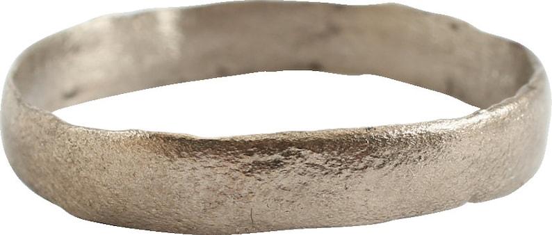 Size 11 12  Ancient Viking Wedding Ring Band  C.850-1050 AD