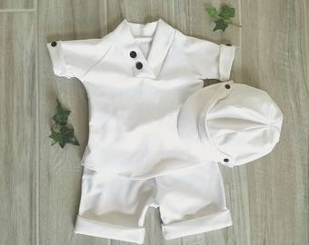 9323c36cd Baby boy baptism outfit, baby boy christening outfit, baby boy blessing  outfit, baby boy white suit