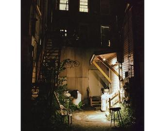 Charlio's Back Door Original Photo Art Print