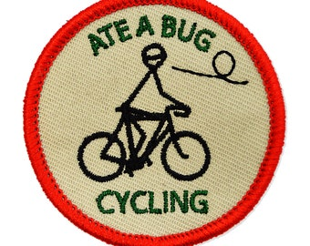 ATE A BUG CYCLING Merit Badge