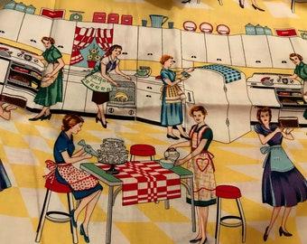 yards Michael Miller Retro Fabric Way to Go Retro Transportation Fabric