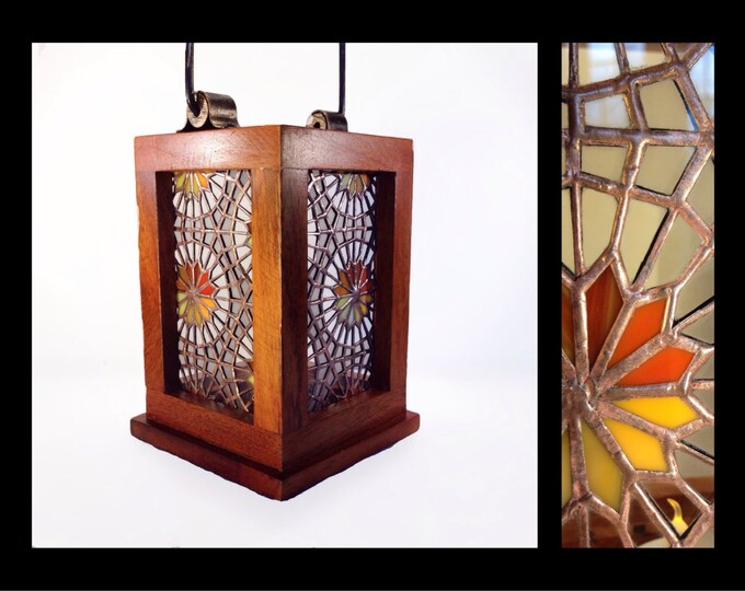 Featured listing image: Luz del Sol - Stained Glass Lantern