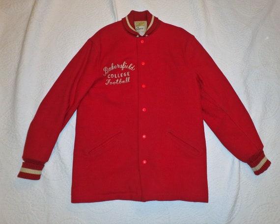 Wool College Football Jacket