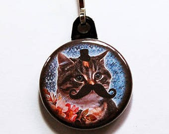 6ee335a19095b Zipper pull for Cat Lovers