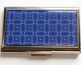 Quilting Needle Case, Sewing Needle case, Quilting Supplies, Sewing, Needle holder, Needle organizer, Needle case, Quilter, Blue (4496)