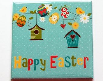 Easter Magnet, Easter Egg Magnet, Happy Easter, Easter Bunny, Magnet, Fridge magnet, Easter Eggs, Easter basket gift, Easter gift (7395)
