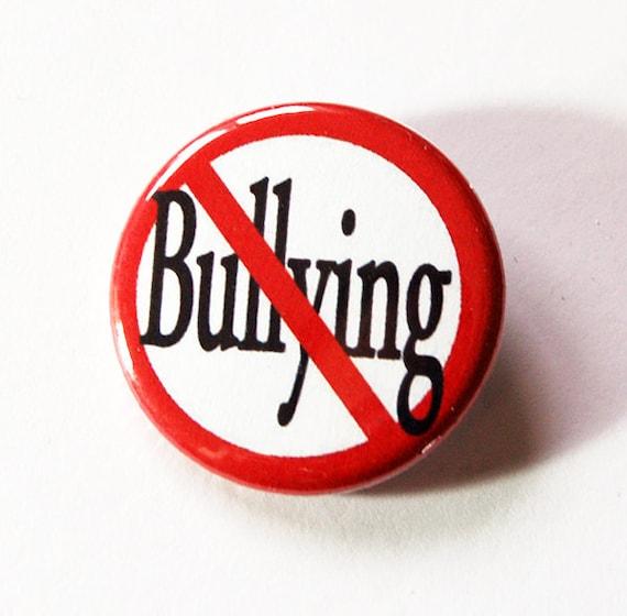 no bullying stop bullying pin end bullying pinback buttons etsy