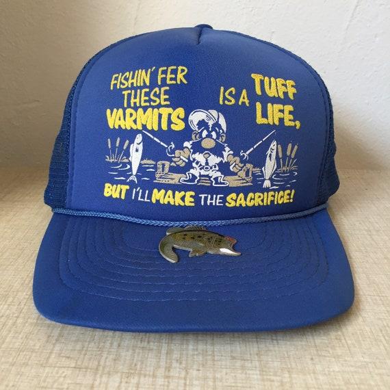 Fishin Fer Theses Varmits Baseball Trucker Snapback Cap  50fd63ab5a1f