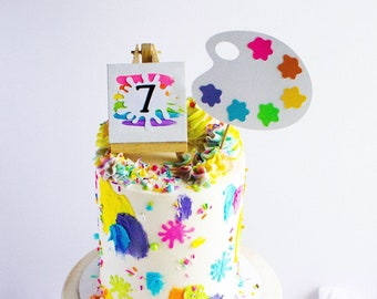 Featured image of post The Best 16 Painter Artist Birthday Cake