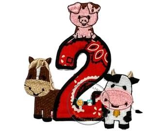 Farm animal number 2 with bandanna fabric
