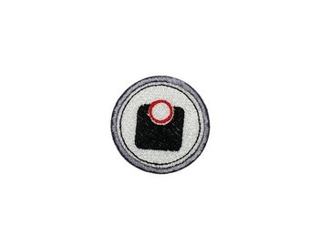 LIQUIDATION SALE Weight loss scale Merit badge- 2 inch iron on patch- ***Ships in 72 Hours***