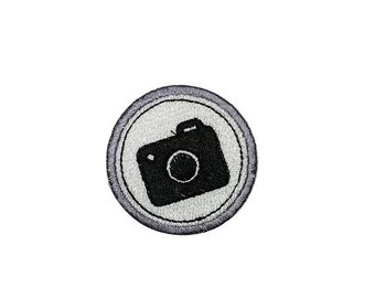 ON SALE Photography Camera Merit badge- 2 inch iron on patch- ***Ships in 72 Hours***