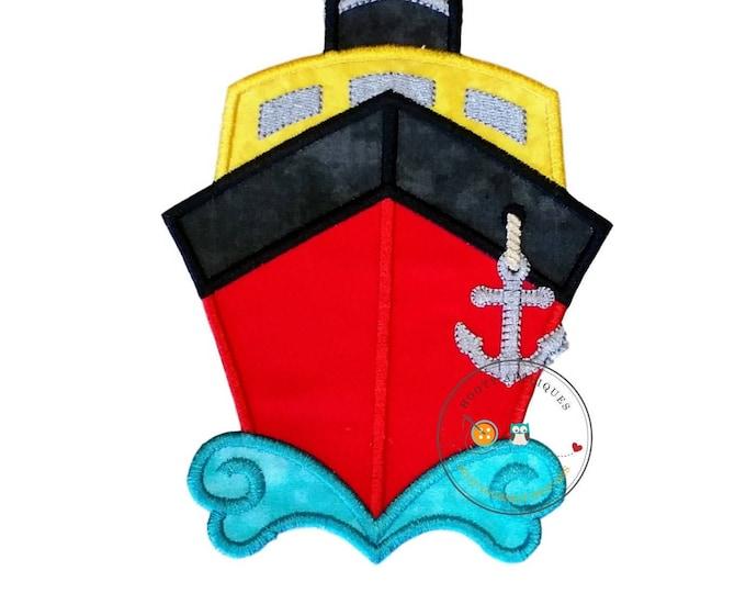 Mickey inspired cruise ship iron on applique