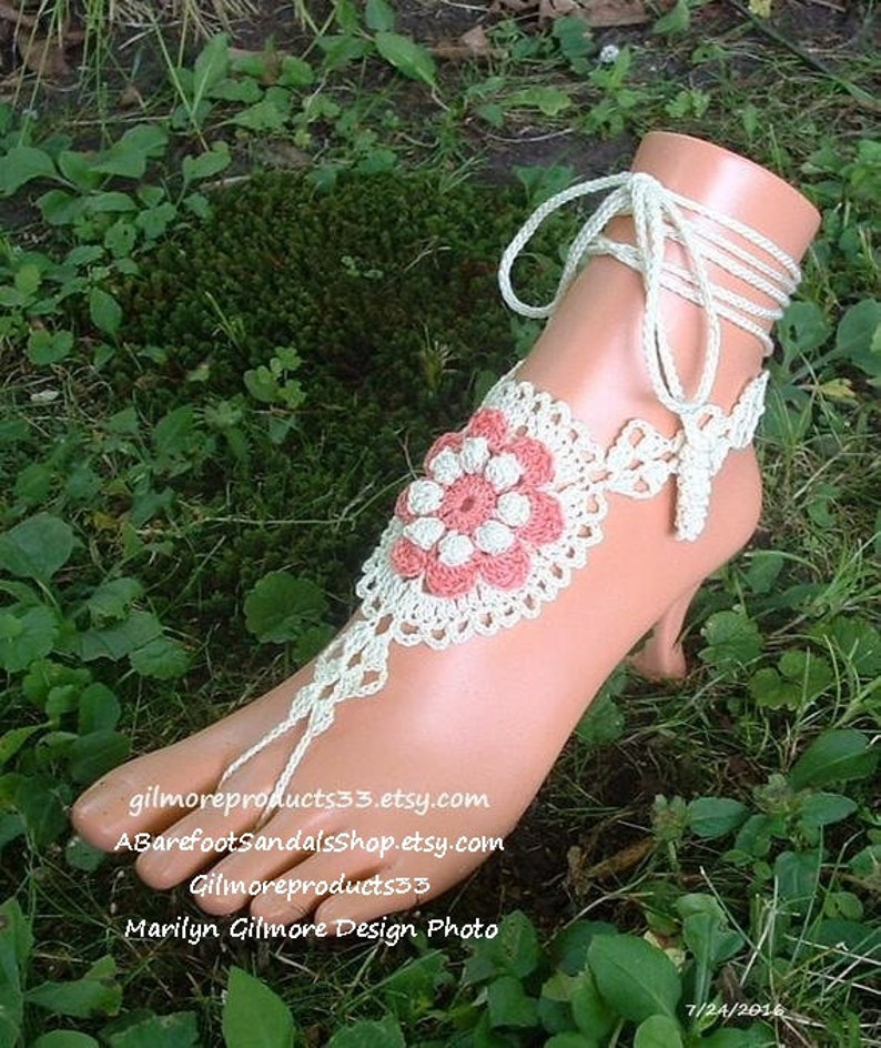 63c6cfa7c8 Quality Layered FLORAL ankle bracelets foot chain Jewelry   Etsy