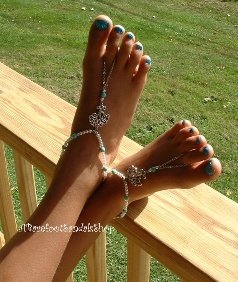 Tree of Life Slip On and Off Beach Ankle Bracelet