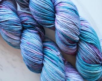 A LITTLE PRINCESS on Squoosh DK, Hand-Dyed Dk-Weight Yarn