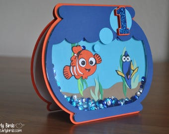 Finding Dory-Inspired Invitation (Birthday, Party, Shower, Announcement)