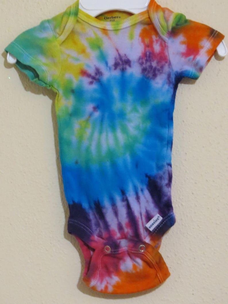 Tie Dye ONESIE ONESIES® brand Body Suit Rainbow Infant | Etsy