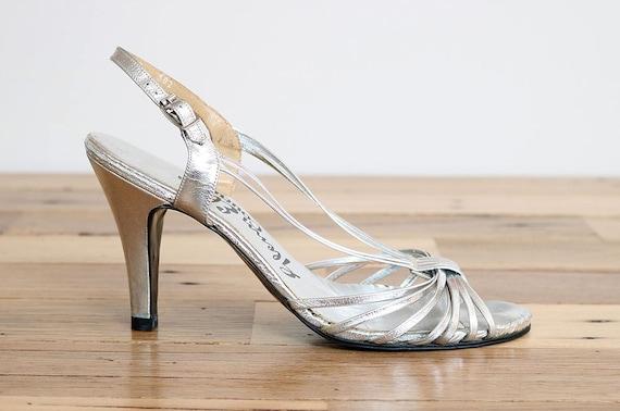 Glenn Elkin Vintage Silver Heels
