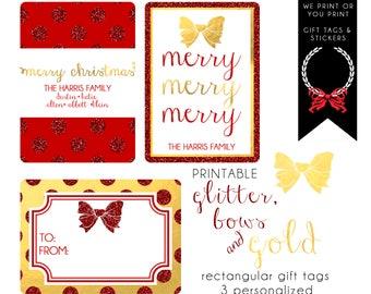 christmas gift tag from santa download christmas gift tag etsy