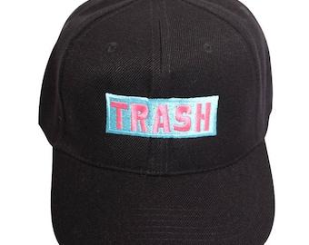 b1ceab2e37035 Trash (Pink Blue) - Baseball Cap