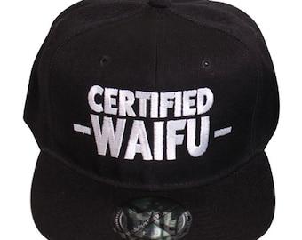 2a7224ddab9 Certified Waifu Snapback