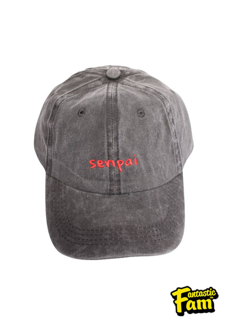 Senpai Dye Washed Dad Cap  7f0174a94f1