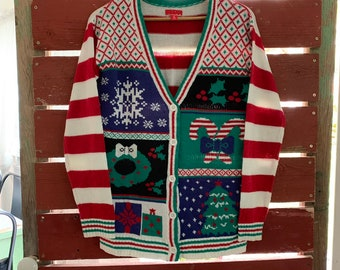 Christmas Cardigan Sweaters.Christmas Cardigan Etsy