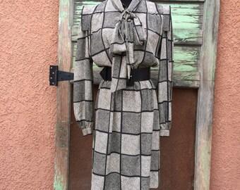 Vintage Straight Cut Dress