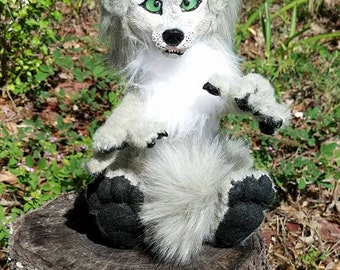 Snarly the Werepup Posable Art Doll