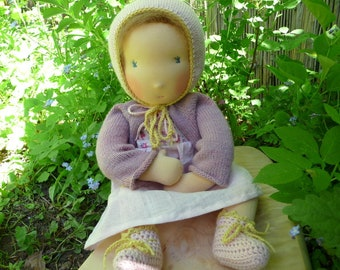 Wish puppet eco 53 cm baby doll Waldorf pupp ...