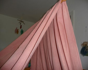 Organic Weighing Veil Plant Dyed Curtain Waldorf-Art Color