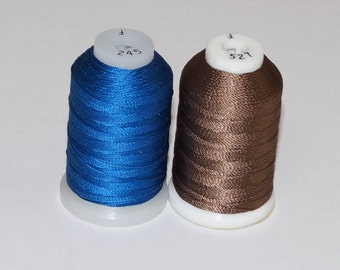 Pure Silk Thread Gudebrod Bros Champion Silk Size F - 1 Spool