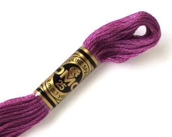 DMC 3835 Floss - 6 Strand Embroidery Floss - Medium Grape