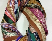 Border 447 Sari Ribbon Embroidered Tassel Boho Junk Journal Fiber Beads Dreamcatcher Jewelry Free Shipping Weave