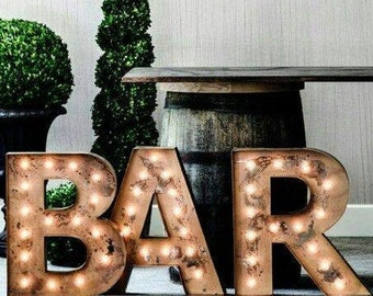"24"" Marquee Letters, marquee letter, light up letter, marquee letter, A B C D E F G H I J K L N O P Q R S T U V W X Y Z & 1 2 3 4 5 6 7 8 9"
