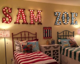 """36"""" Marquee Letters Marquee Lighted Sign Letters Wood........A B C D E F G H I J K L M N O P Q R S T U V W X Y Z"""