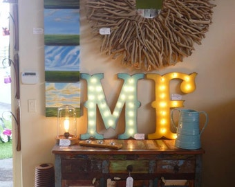 "24"" Wood Letter Marquee Lighted Sign Marquee Sign Lighted Letter...........   A B C D E F G H I J K L M N O P Q R S T U V W X Y Z"