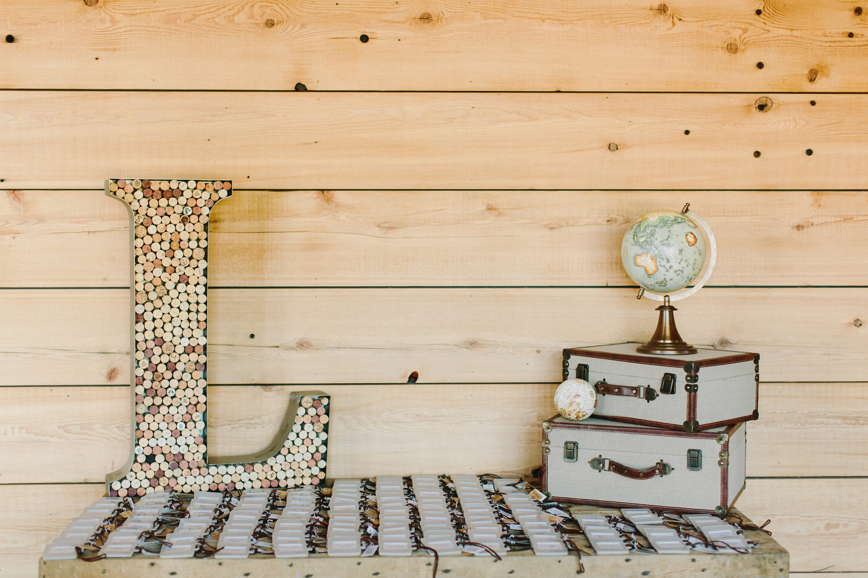 Large Metal Letters & Numbers...… Wine Corks Succulent Letter ...