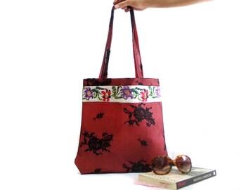 Lace shoulder bag Felt handbag Felted tote bag Shopping bag Gift for her Hobo totes