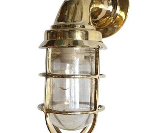 vintage model nautical style alley way brass passage way light new 1 piece