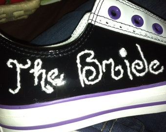 Custom Sneaker Embroidery (SHOES NOT INCLUDED) - Nicknames, Lettering, Etc.