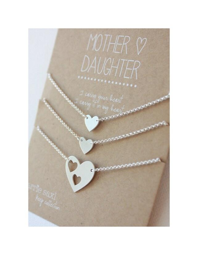 Mutter 2 Töchter Armband Set Weihnachten Geschenk Silber   Etsy