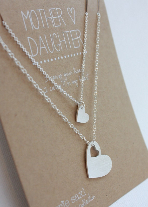 Valentines Day Gift for Her. Mother Daughter Equestrians Mother Daughter Jewelry Mother and two Daughter Horseshoe Necklace Set