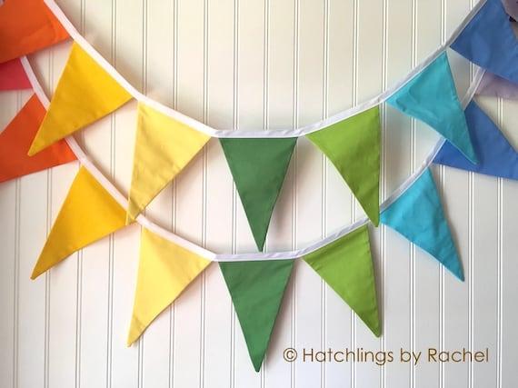 Fabric Wall Decor Home Decor Rainbow Birthday Gift Handmade