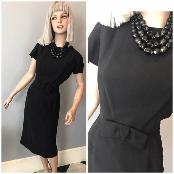Vintage Jeanie Petite lbd cocktail dress-Sm-Med Pe