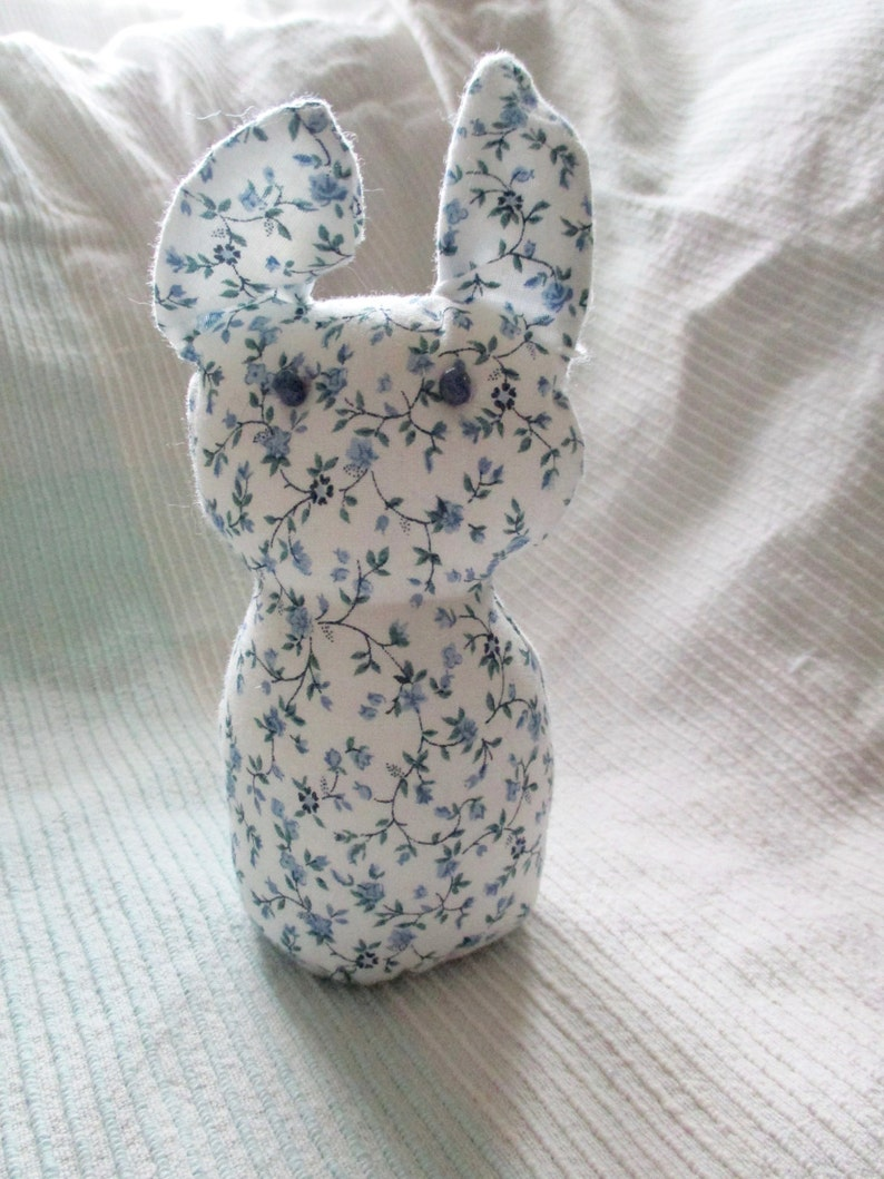 button tail bunny quiet cotton friend for young or old