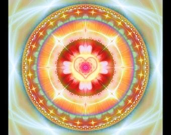 MASA -- Tapestry, Wall Hanging - Original Pumayana Visionary Healing Art, Spiritual, Psy, Shamanic, Sacred Geometry, Entheogenic Art